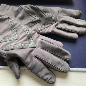 Vintage Isotoner Driving Gloves Gray One Size